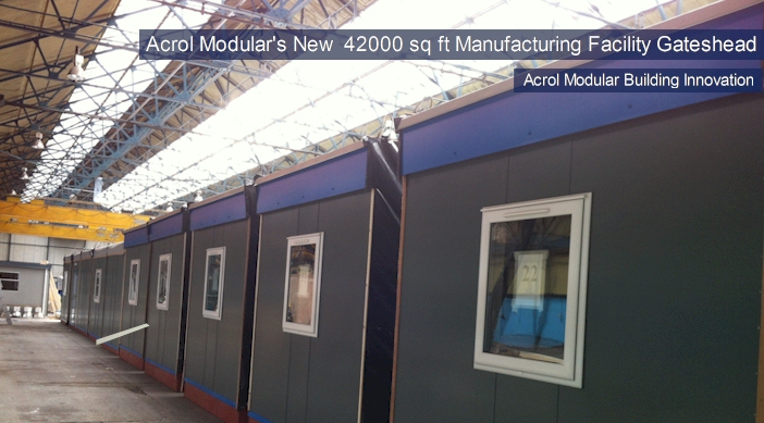 Acrol Modular New Manufacturing Facilities