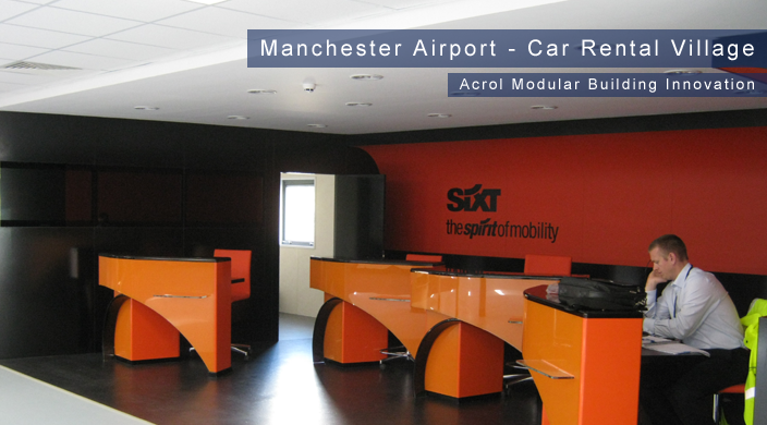 Acrol Innovation Modular Buildings  - Manchester Airport Car Rental Village
