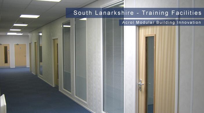 Acrol Innovation Modular Buildings  - South Lanarkshire Training Facility