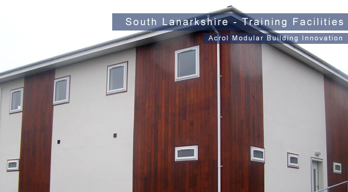 Acrol Innovation Modular Buildings  - South Lanarkshire Training Facility